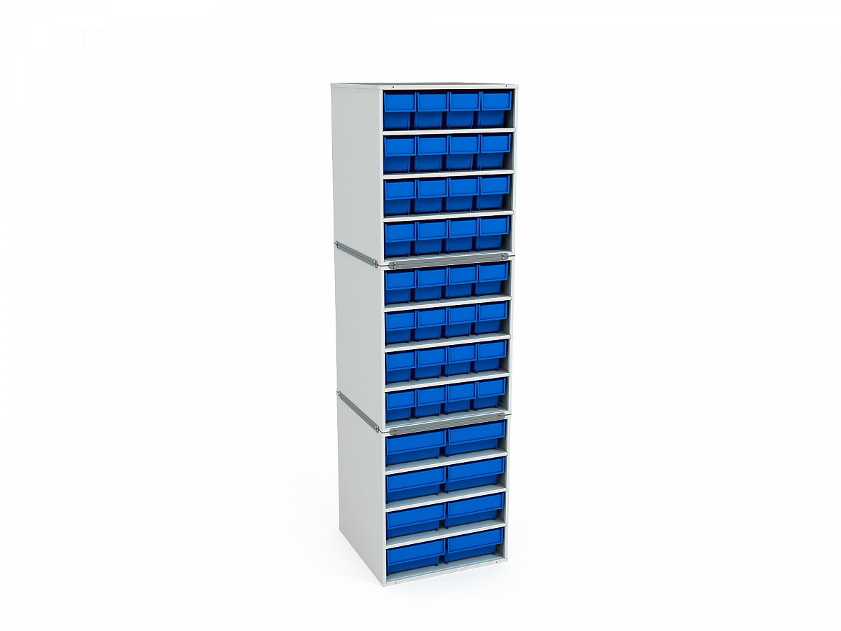 Stationary Modular Storage Counter (3 tier) (3)