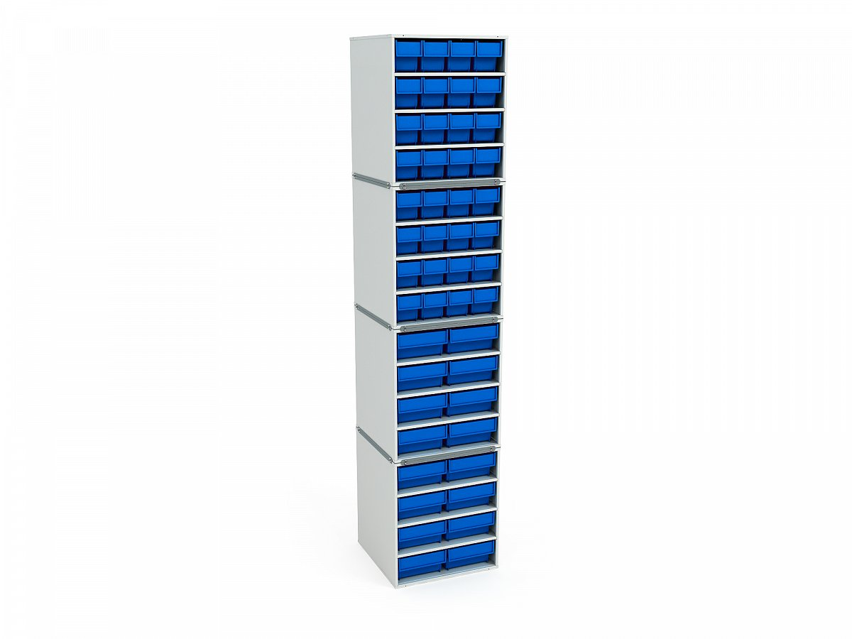 Stationary Modular Storage Counter (4 tier) (3)