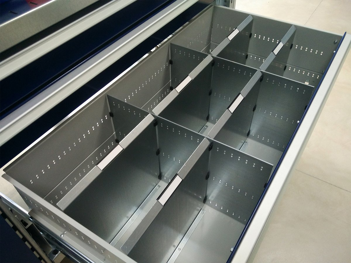 Partitions for DiKom cabinet and cupboard drawers