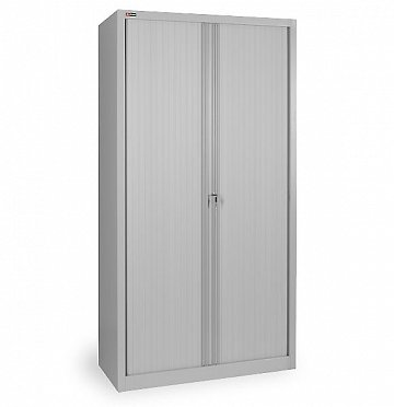 KD-144 office cupboard (4 shelves) with roller shutter doors (2)