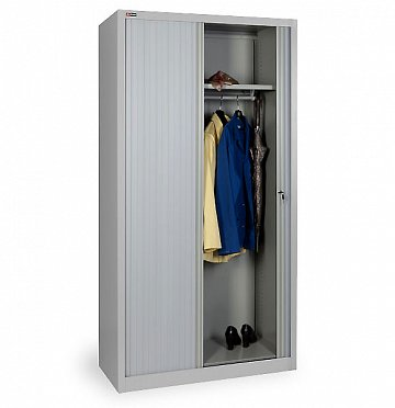 KD-144k Locker with side-opening roller shutter doors