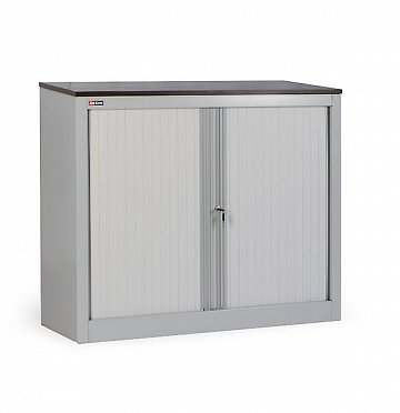 KD-141 office cupboard (1 shelf) with roller shutter doors (2)