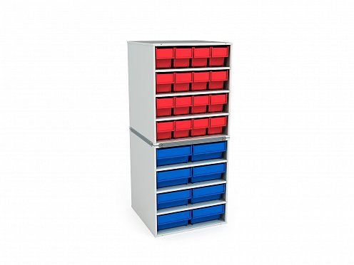 Stationary Modular Storage Counter (2 tier) (2)
