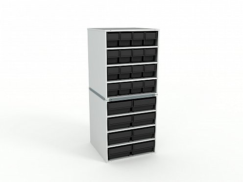 ESD Stationary Modular Storage Counter (2 tier)