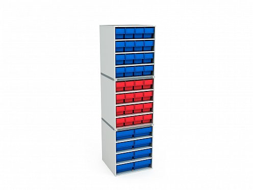 Stationary Modular Storage Counter (3 tier) (2)