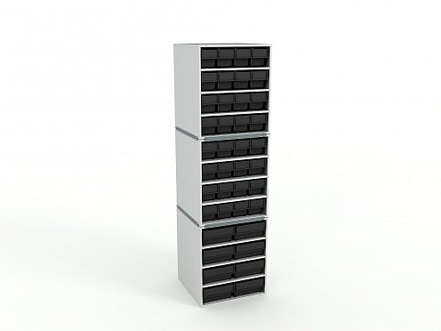 ESD Stationary Modular Storage Counter (3 tier)