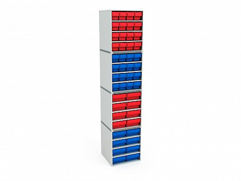 Stationary Modular Storage Counter (4 tier) (2)