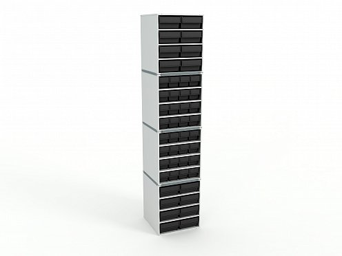 ESD Stationary Modular Storage Counter (4-tier)