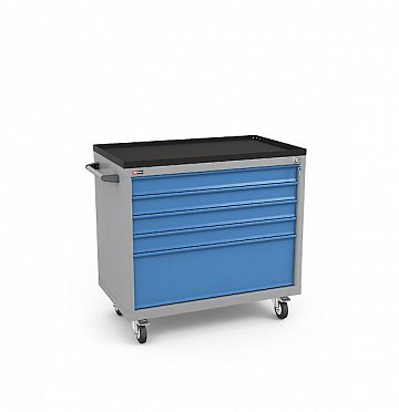DiKom Drawer Unit VL-035 with Tray, Castors, and Side Handle