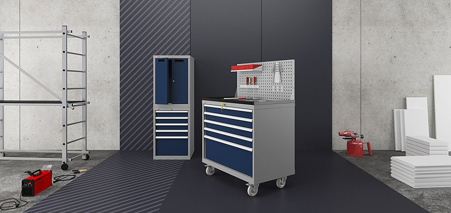 VS tool drawer units