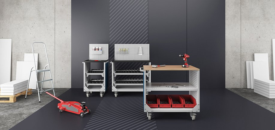VST tool trolleys