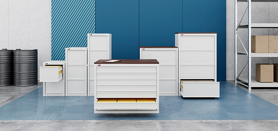 File and cardfile cabinets