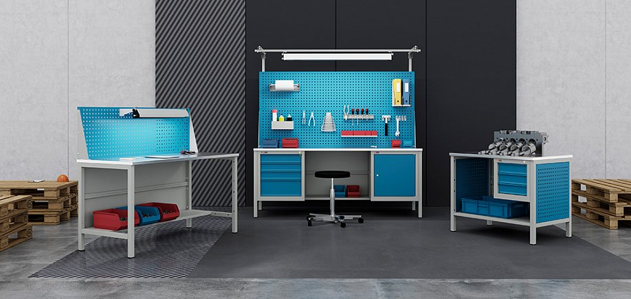 VL-K workbenches (up to 750 kg)