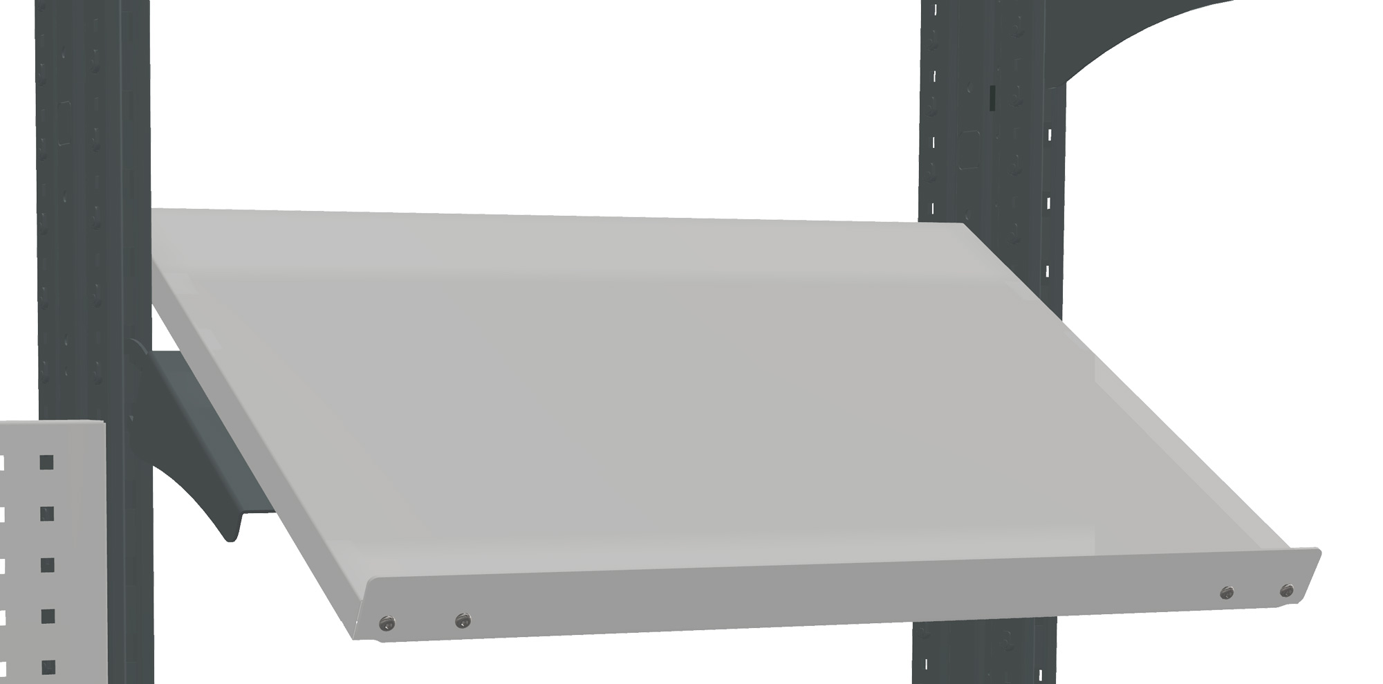 VS Shelf for a panel, 100 ESD