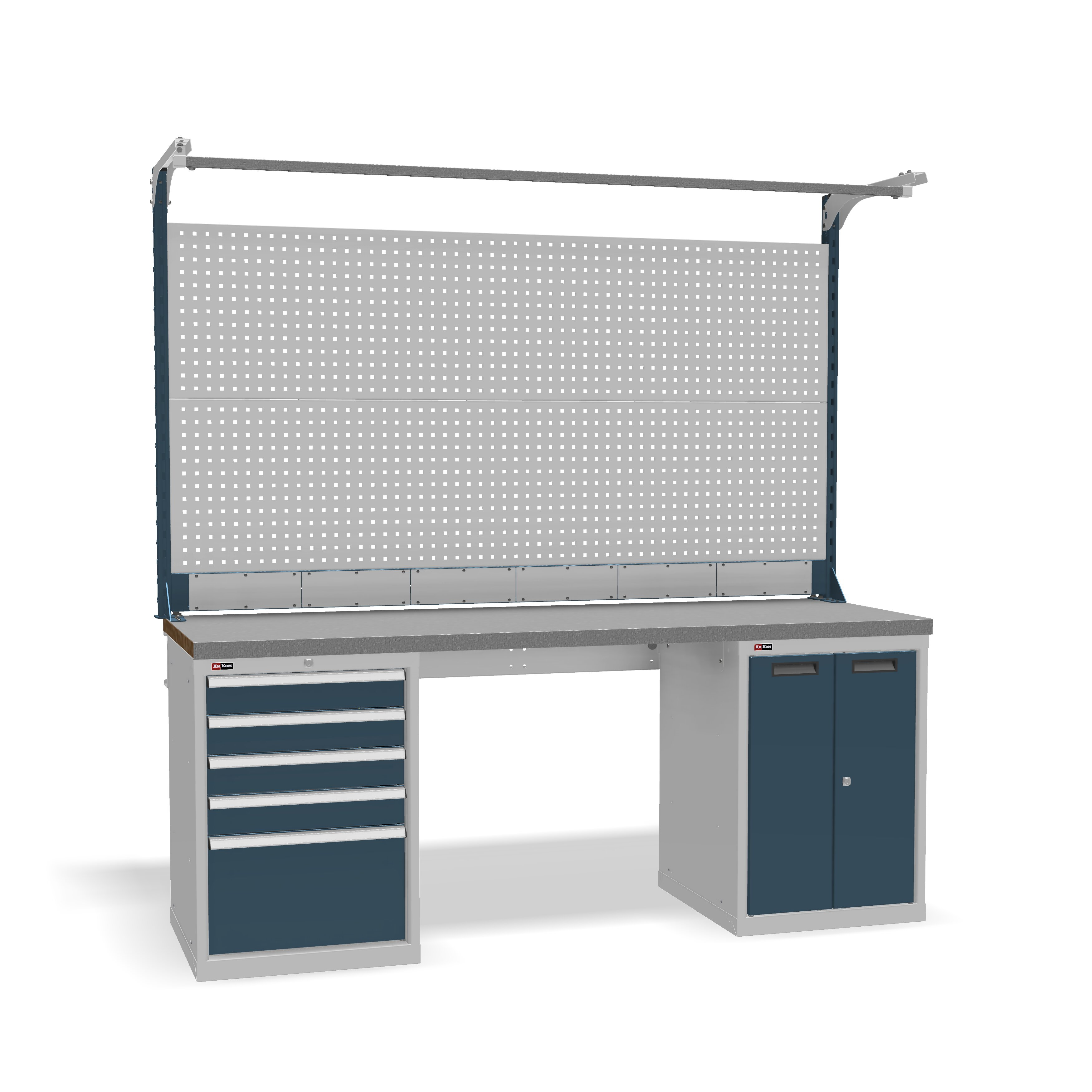 DiKom VS-200-07 Workbench + DiKom Perforated Panel VS-200-E6