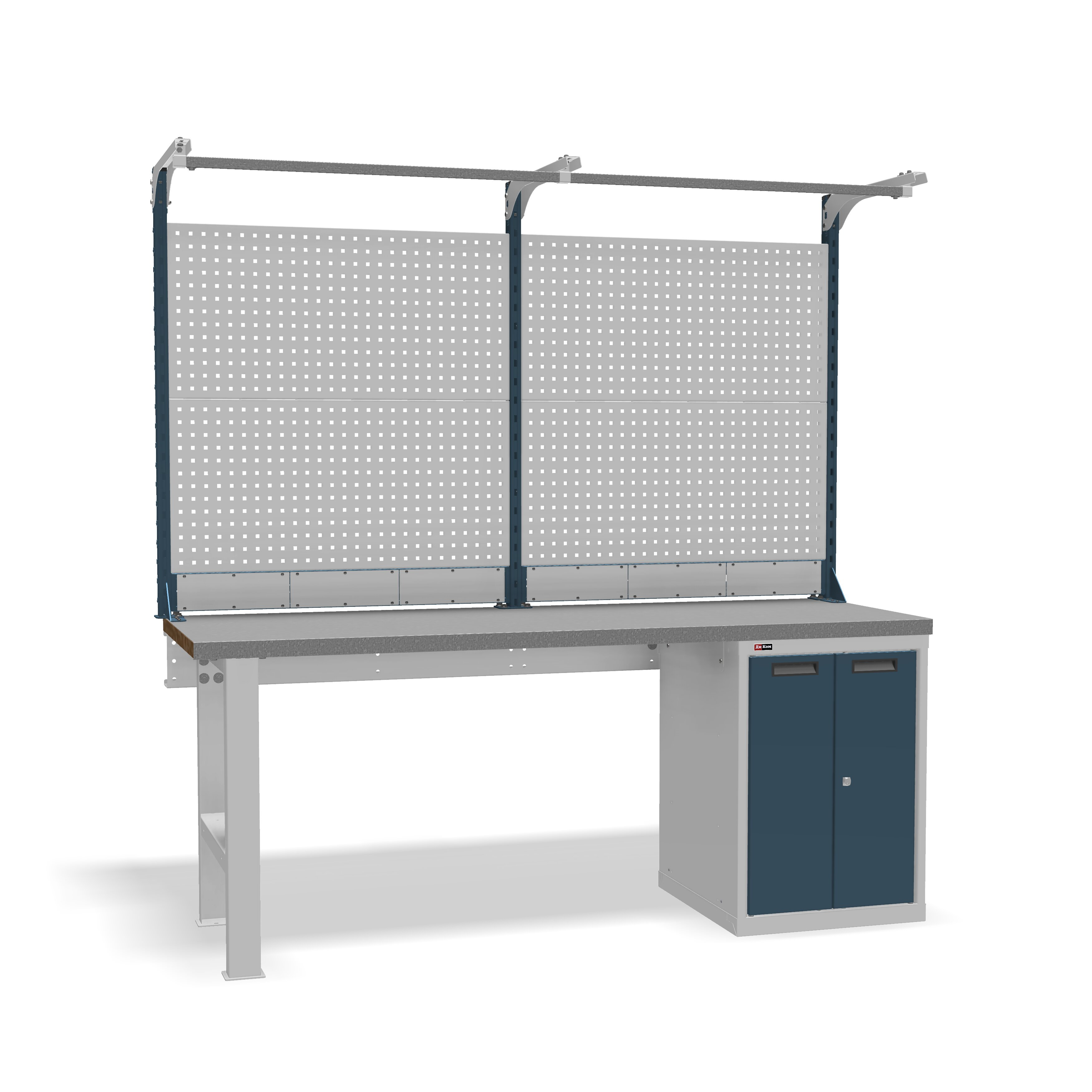 DiKom VS-200-03 Workbench + DiKom Perforated Panel VS-200-E3