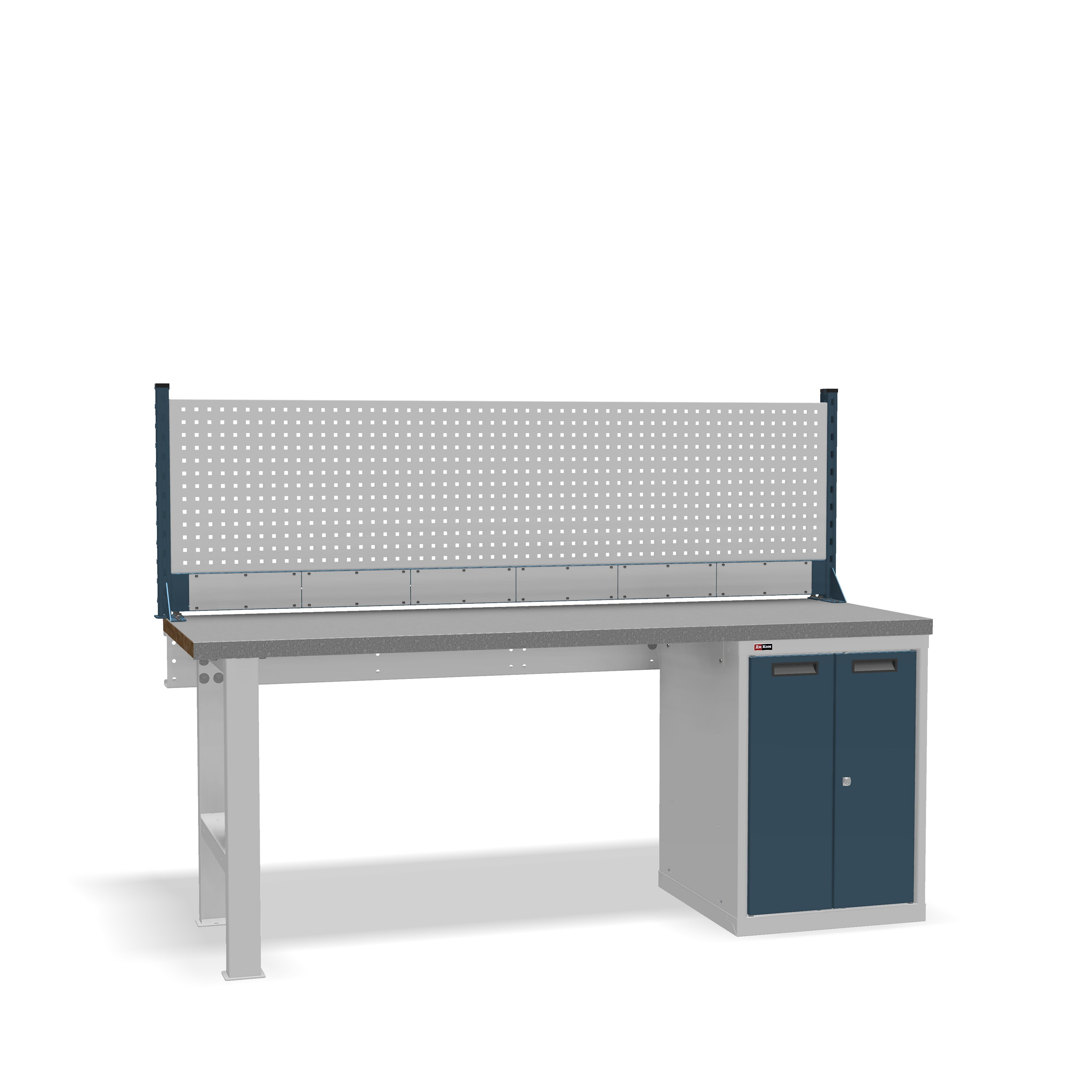 DiKom VS-200-03 Workbench + DiKom Perforated Panel VS-200-E4