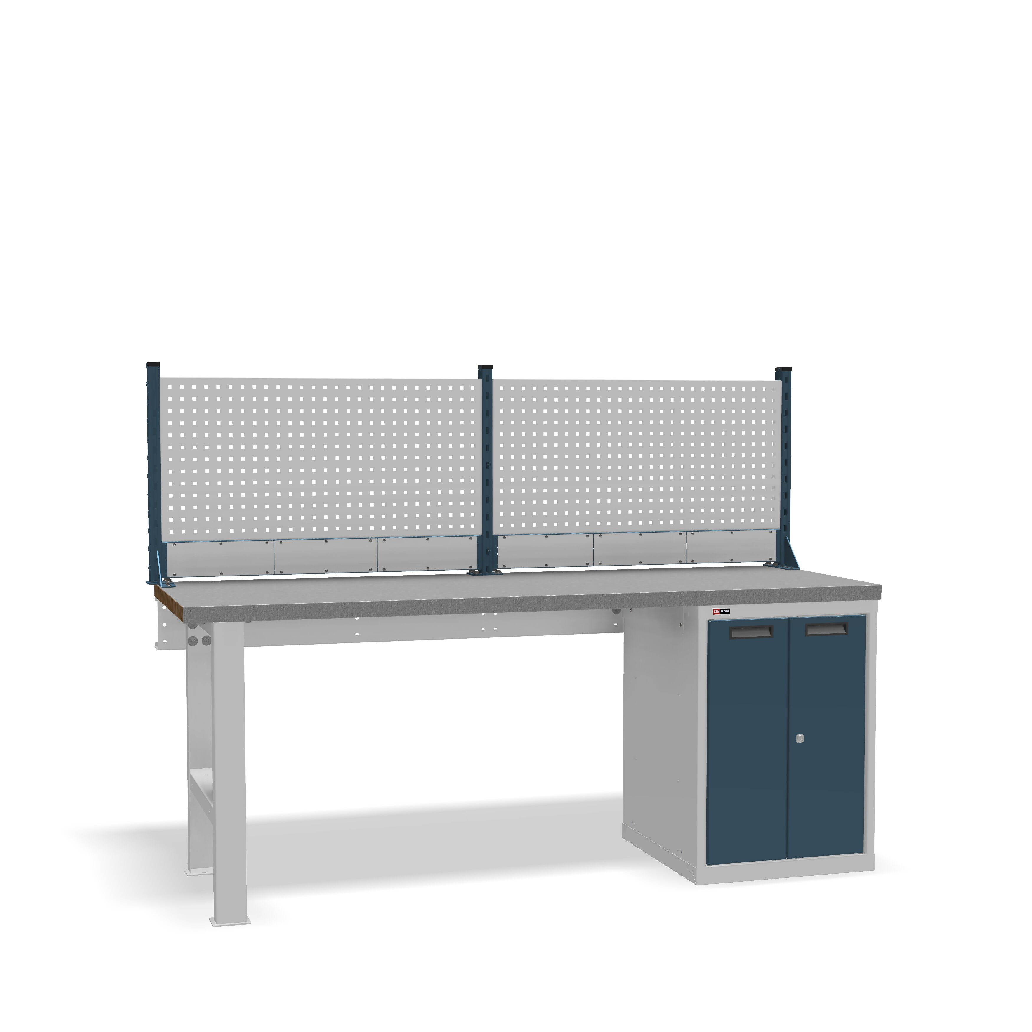 DiKom VS-200-03 Workbench + DiKom Perforated Panel VS-200-E1