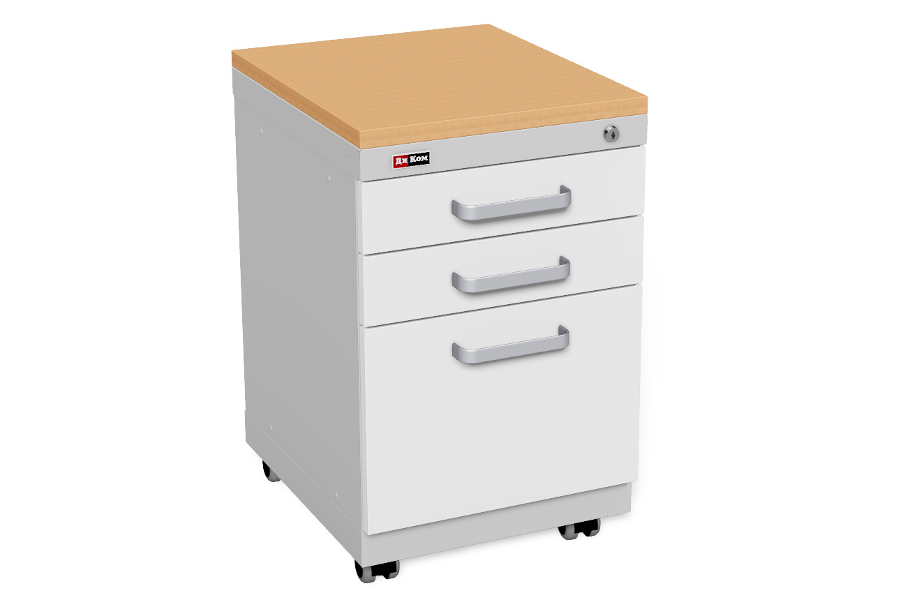 DiKom Office Cabinet with castors (3)