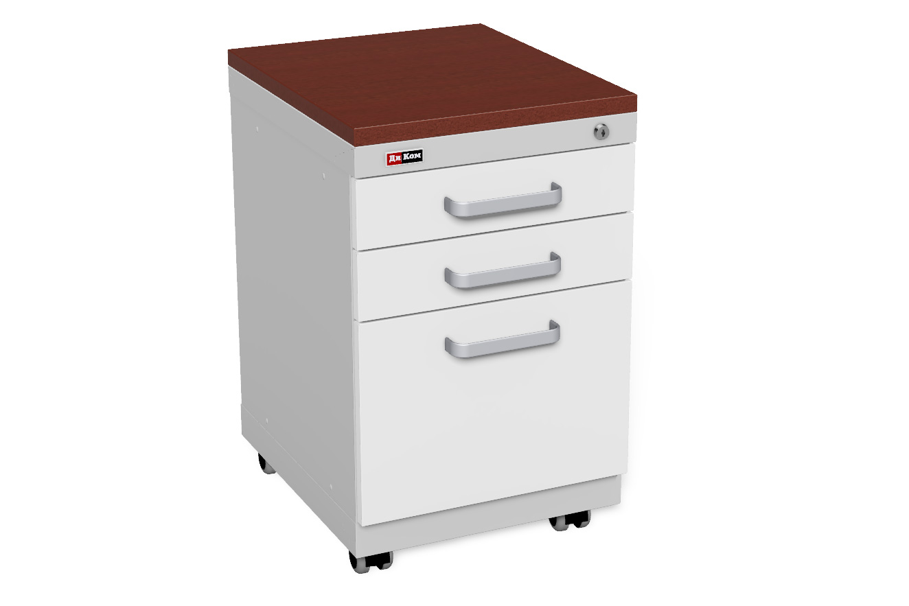 DiKom Office Cabinet with castors (4)