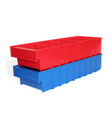 B Plastic drawer, 500 х 185 х 100