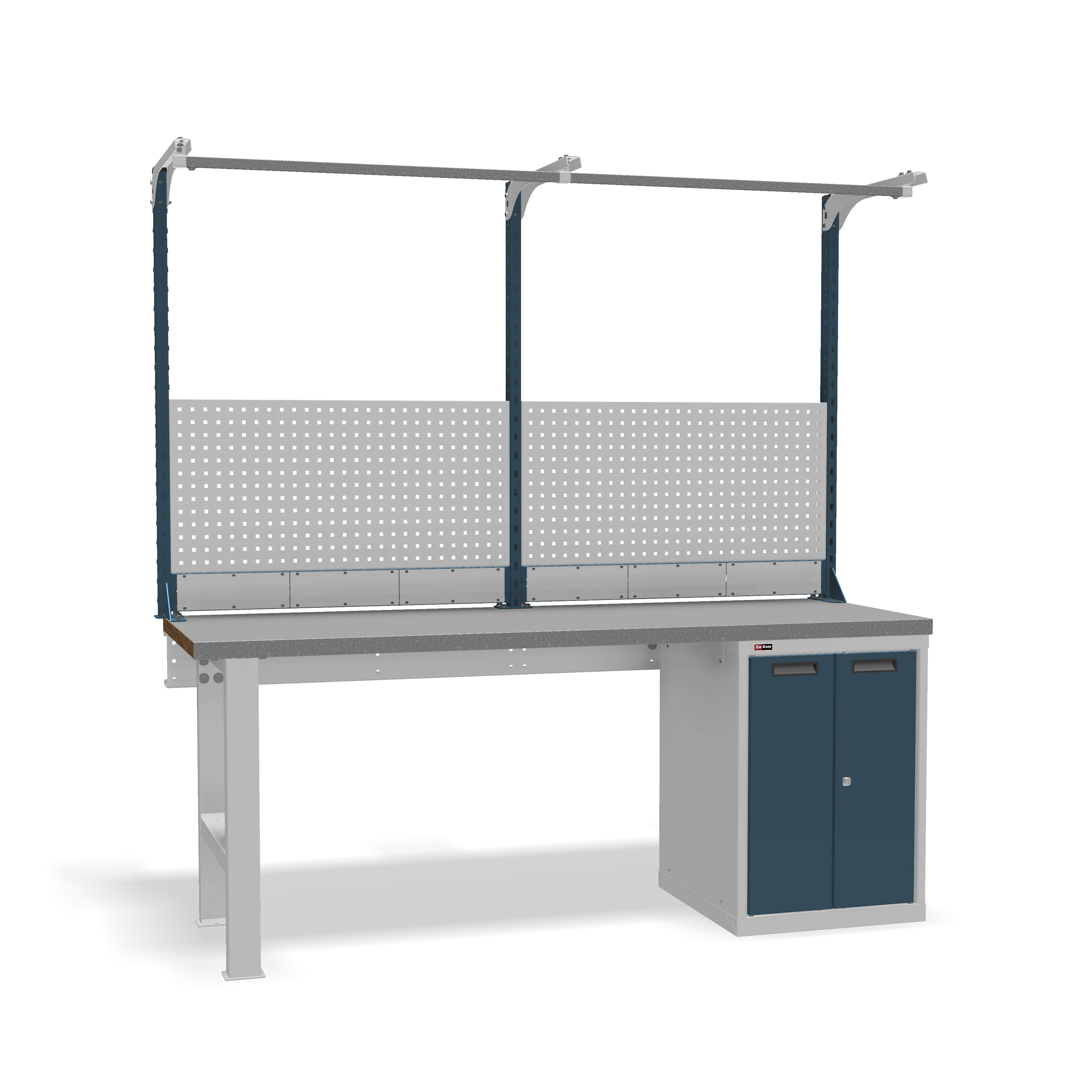 DiKom VS-200-03 Workbench + DiKom Perforated Panel VS-200-E2