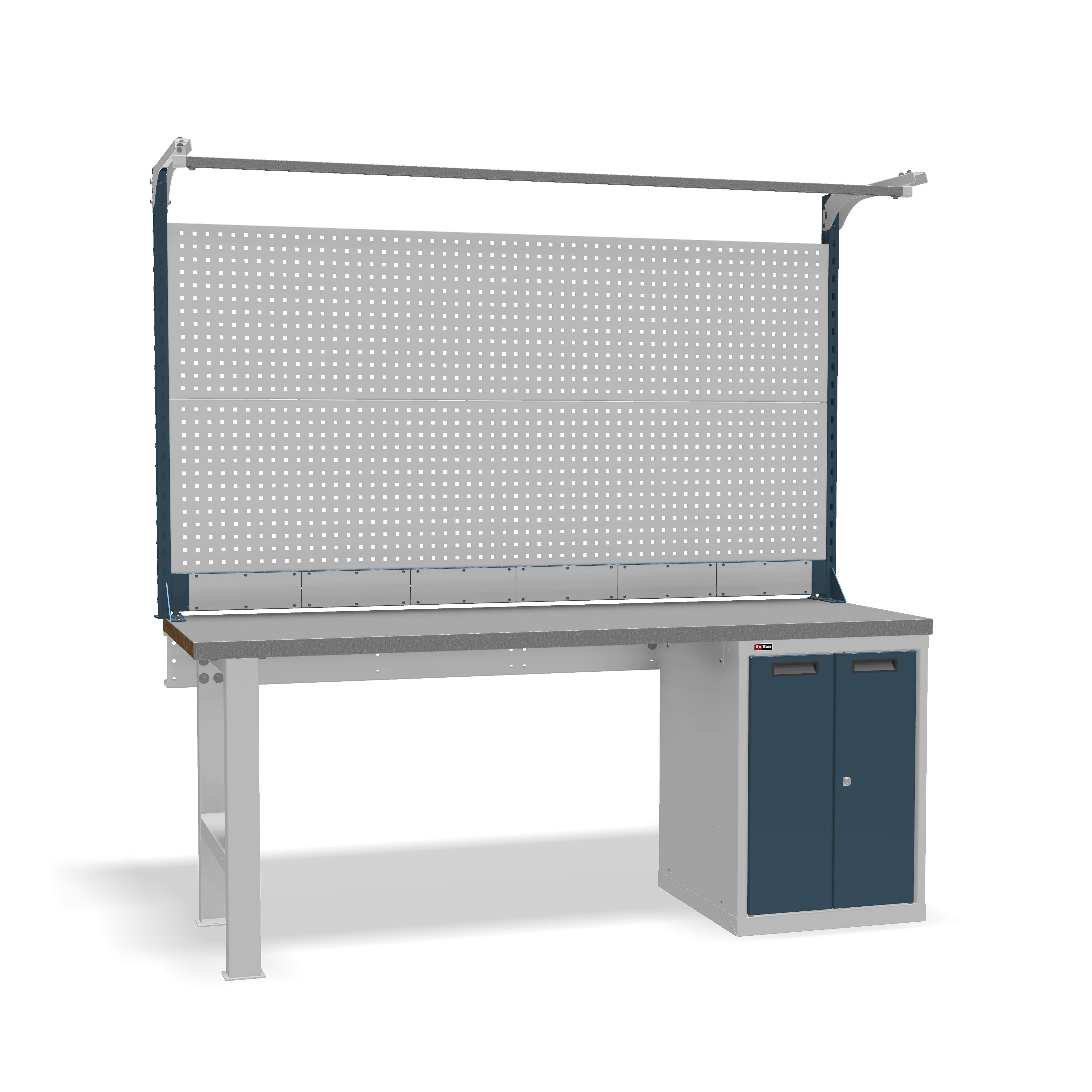 DiKom VS-200-03 Workbench + DiKom Perforated Panel VS-200-E6