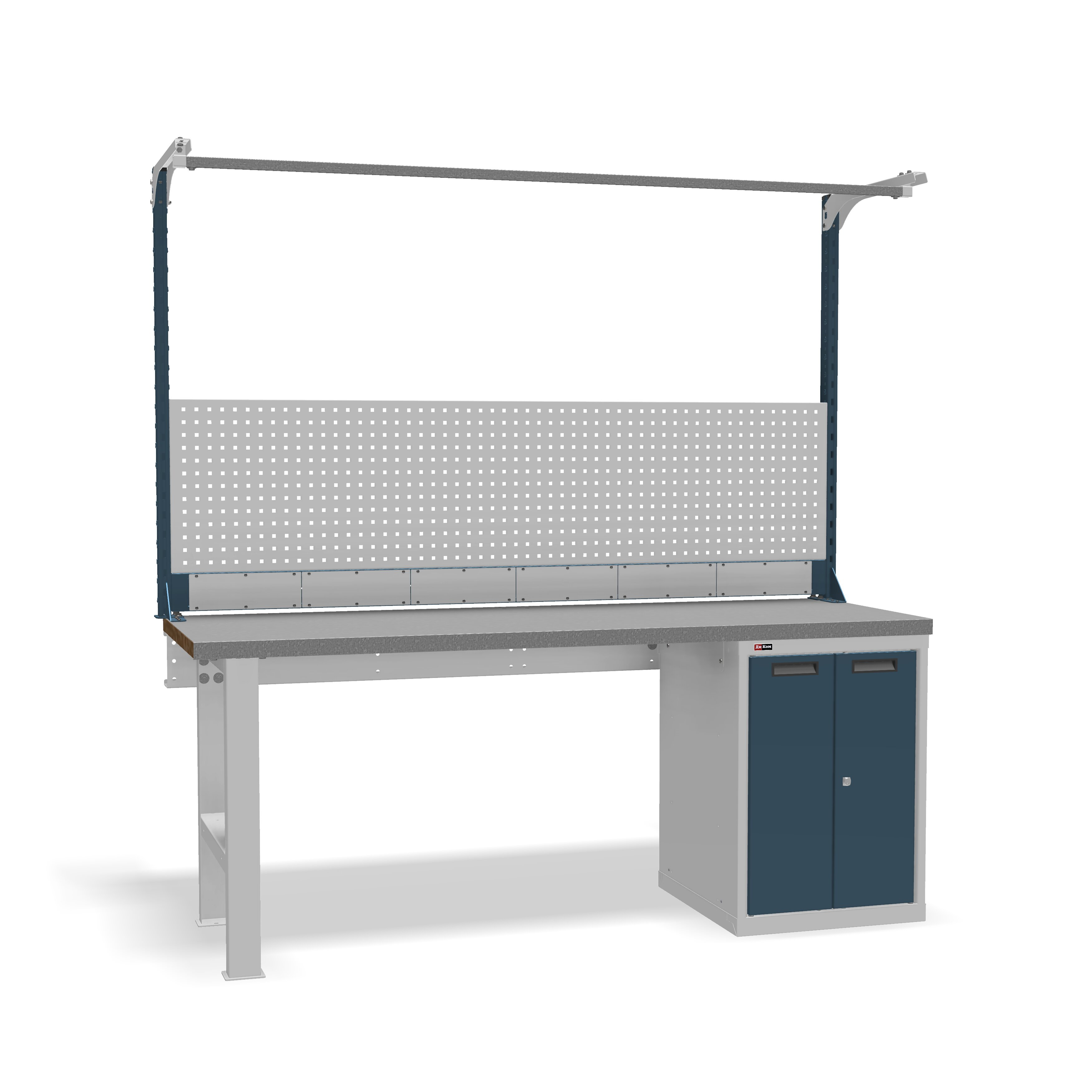 DiKom VS-200-03 Workbench + DiKom Perforated Panel VS-200-E5