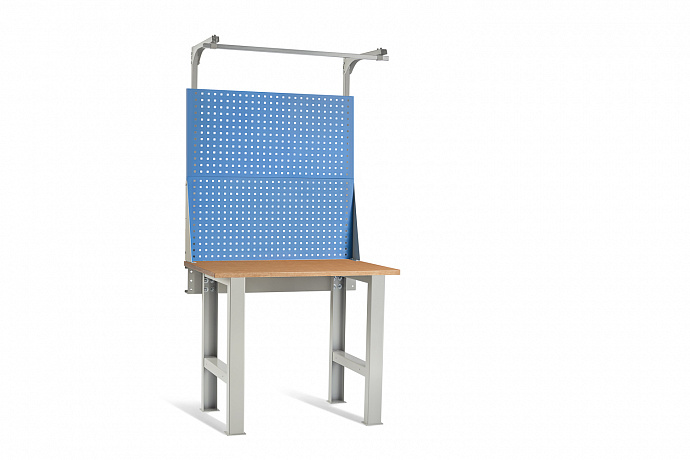 DiKom VL-100-01 Workbench + DiKom Perforated Panel VL-100-E3