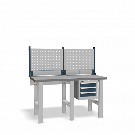 DiKom VS-150-02 Workbench + DiKom Perforated Panel VS-150-E1