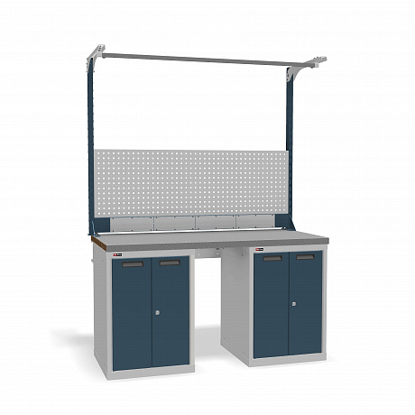 DiKom VS-150-08 Workbench + DiKom Perforated Panel VS-150-E5