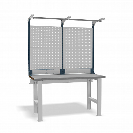 DiKom VS-150-01 Workbench + DiKom Perforated Panel VS-150-E3