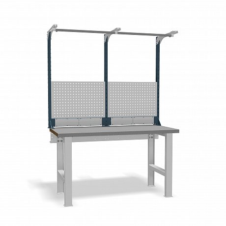 DiKom VS-150-01 Workbench + DiKom Perforated Panel VS-150-E2
