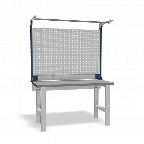 DiKom VS-150-01 Workbench + DiKom Perforated Panel VS-150-E6