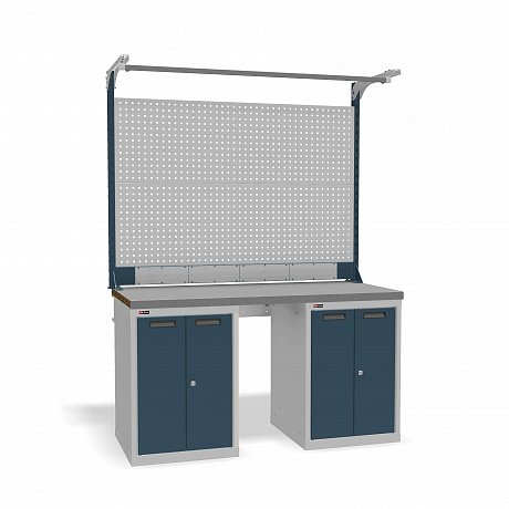 DiKom VS-150-08 Workbench + DiKom Perforated Panel VS-150-E6
