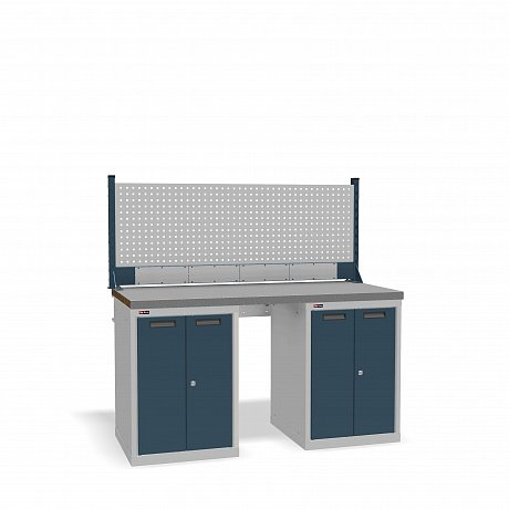 DiKom VS-150-08 Workbench + DiKom Perforated Panel VS-150-E4