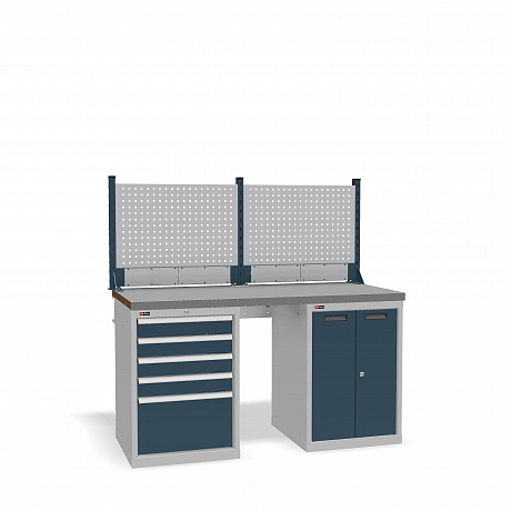 DiKom VS-150-07 Workbench + DiKom Perforated Panel VS-150-E1