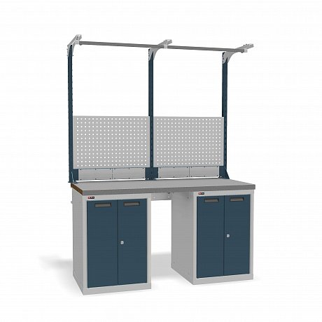 DiKom VS-150-08 Workbench + DiKom Perforated Panel VS-150-E2