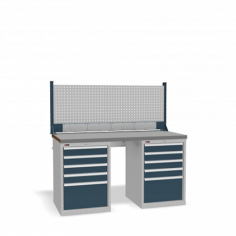 DiKom VS-150-09 Workbench + DiKom Perforated Panel VS-150-E4