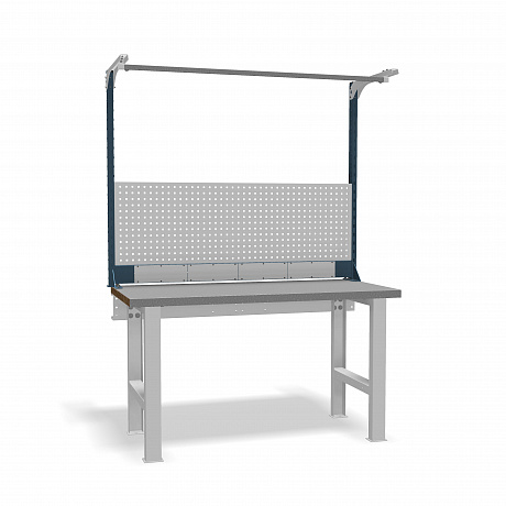 DiKom VS-150-01 Workbench + DiKom Perforated Panel VS-150-E5