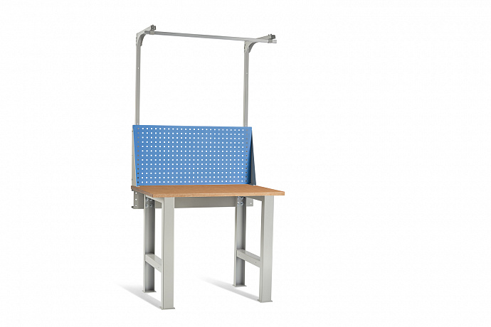 DiKom VL-100-01 Workbench + DiKom Perforated Panel VL-100-E2