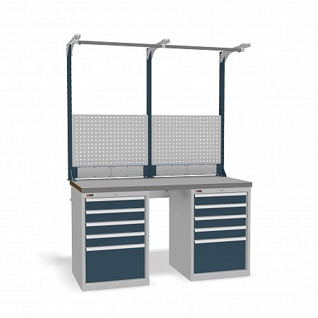 DiKom VS-150-09 Workbench + DiKom Perforated Panel VS-150-E2