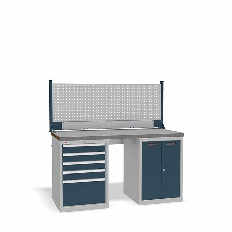 DiKom VS-150-07 Workbench + DiKom Perforated Panel VS-150-E4